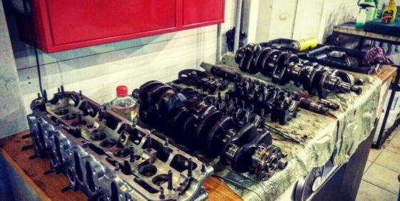 Как в Антисервисе двигатели ремонтируют
