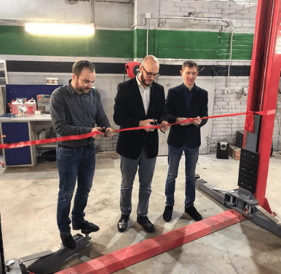 2018 год – открытие 3 помещения